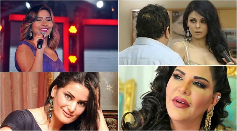 «بورنو انتصار ولفظ الفيشاوي».. أشهر سقطات الفنانين أمام الكاميرات